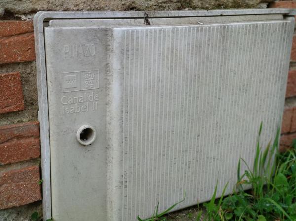 Protección de contadores del agua