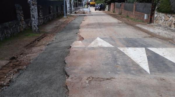 Obras de los resaltos en la zona de Villar del ...